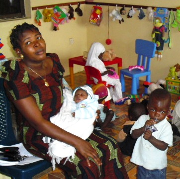 Children's Play Room Enhances Family-centered Care in Nigerian Hospital